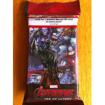 Tarjetas Avengers Age Of Ultron Upper Deck Frost Giant 3 D