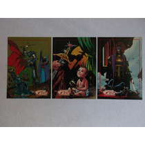 Dracula Vlad The Impaler 3 Card Set Topps Comics 1993