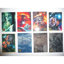 The Lord Of The Rings Masterpieces 1 Y 2 Lote Foil Y Sketch