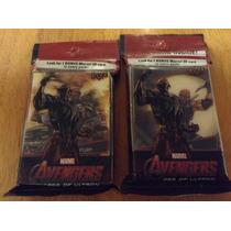 2 Paquetes Con 31 Tarjetas De Avengers Upper Deck 3 D Abomin