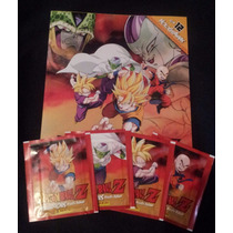 Estampas Dragon Ball Z Warriors Panini