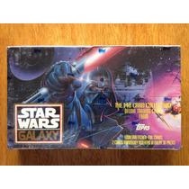 Caja Cerrada Con 36 Sobres Con Tarjetas De Star Wars Galaxy
