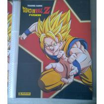 Dragon Ball Z Fusion, Trading Cards, Coleccionador Panini