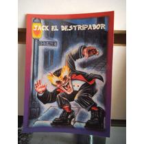 Tarjeta Jack El Destripador Monstruos Del Bolsillo Vintage