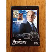 Tarjetas Efx Capitán America (agente Coulson) Prop Replica