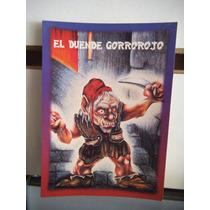 Tarjeta El Duende Gorrorojo Monstruos Del Bolsillo Vintage
