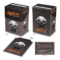 Magic The Gathering Mana Color Negro Deck Box