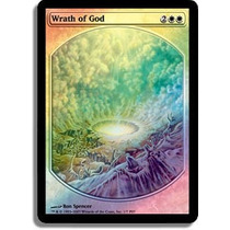 Mtg Wrath Of God (textless Promo)