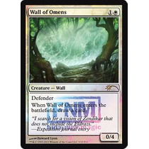 Mtg Wall Of Omens (fnm) Promotional Cards (foil)