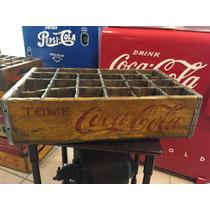 Reja Caja De Refresco Cola Cola Antigua Coleccion