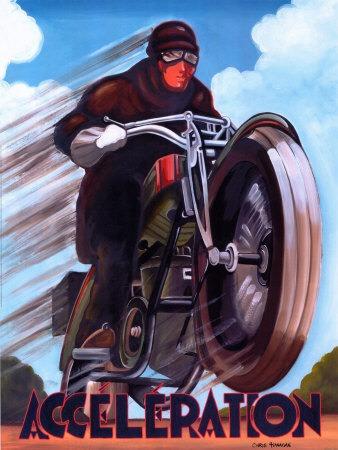 Carteles De Arte Vintage De Motocicletas Retro