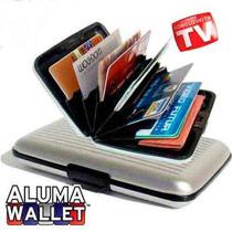Cartera Alluma Wallet De Aluminio Para Hombre Y Mujer Unisex