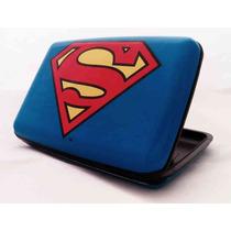 Cartera De Aluminio Security Card Wallet Aluma Superhéroes