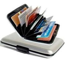 Cartera Tipo Aluma Wallet Aluminium Wallet Ondulado
