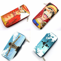 Cartera Con Cierre One Piece Monkey D Luffy Portgas D Ace