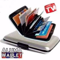 Cartera Aluma Wallet Aluminio Unisex Como Lo Viste En Tv