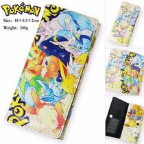Cartera Anime Pokemon Vulpix Ivy Vaporeon Umbreon Jolteon