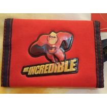 Cartera The Increibles 100% Original Ed Limitada Disney Pixa