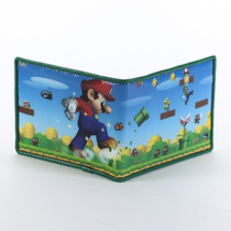 Super Mario Bros. Nintendo Cartera Importada 100% Original