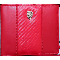 Cartera Puma Ferrari (piel Roja) Caballero