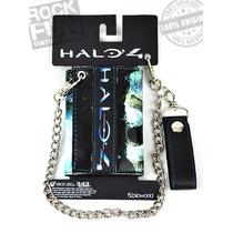 Halo 4 Cartera Cadena Importada 100% Original