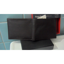 Cartera Cafe Marca Perry Ellis Super Padre De Piel Flr