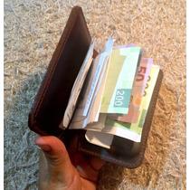 Tarjetero / Billetera 100% Piel