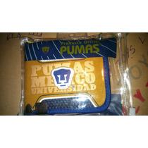 Cartera Genuina Pumas Club Univers Nueva Y Sellada Lyly Inc