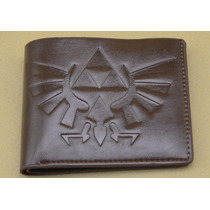 Zelda Cartera Piel Billetera Ocarina Oficial Legend Of Link