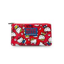 Bolso De La Moneda Hello Kitty 40th Aniversario Red Sancb058