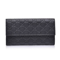 Cartera Gucci Gg Guccissima Leather Continental Para Mujer
