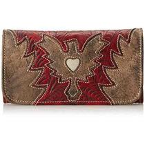 Cartera American West Eagle Heart Ifs Para Mujer