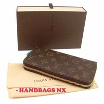 -wow Hermosa Cartera Louis Vuitton Damier Zziper Disponible¡