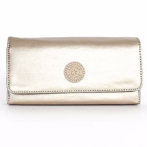 Cartera De Dama Kipling Modelo Brownie Color Toasty Gold