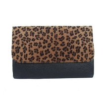 Cartera Mujeres Keral Cereales Leopard Fashion Clutch Bag -