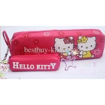 2en1 Lapicera Bolsa Cosmetiquera + Portalabial Bob Kitty E4f