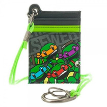 Monedero Teenage Mutant Ninja Turtles Tarjeta Parachord Mw1g