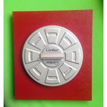 Cartier Exhibidor Original De Plumas 21 X 24 X 4.5 Cm. Hm4