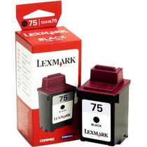 Cartucho De Tinta Negro Lexmark 75