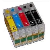 Cartuchos Tinta Recargables P/ E Pson T30 T10 Cx3900 4900