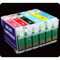 Cartuchos Rellenables Reseteables Para Impresoras Epson $65