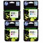 Pack De Cartuchos Xl Hp 932/933 Para Equipos Hp 7612 Y 7110