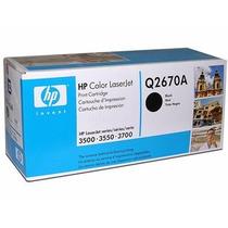 Toner Hp Originales Q2670a Negro 3500, 3550, 3700