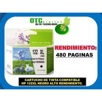 Cartucho De Tinta Compatible Hp 122xl Negro Alto Renc. Maa