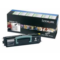 Toner Lexmark Original X203a11g Para Modelos X203 X204