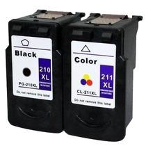 Cartuchos Compatibles Nuevos Canon 210xl,211 Xl Color Y Negr