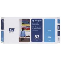 Tinta Designjet Cabezal Limpiador Hp C4961a Lf 83 Cyan +c+