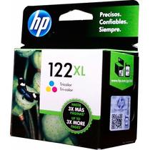 Cartucho Hp 122xl Tinta Color Alto Rendimiento Ch564h