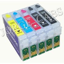 Cartuchos Compatibles Autorreseteables Para Epson T22 Tx130