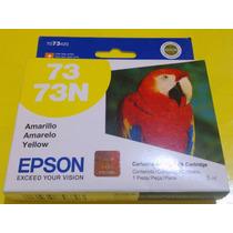 Cartucho Epson Amarillo 73n- T073420